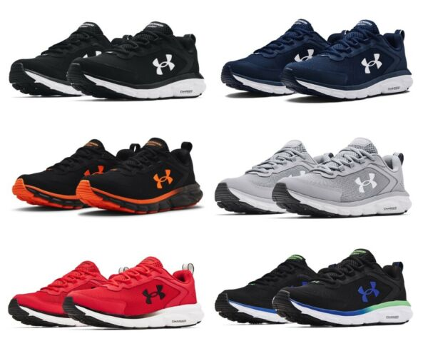 Under Armour 3024590 Men#x27;s Training UA Charged Assert 9 Running Athletic Shoes $64.95