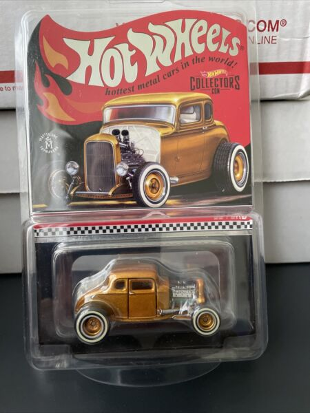 2021 Hot Wheels RLC Deuce Coupe: HWC Special Edition '32 Ford LE *IN HAND NOW*