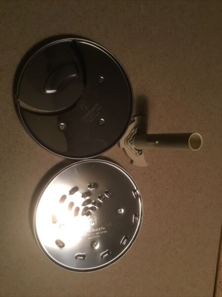 Cuisinart 14 cup Food Processor Blades and Holder 3 Pc New