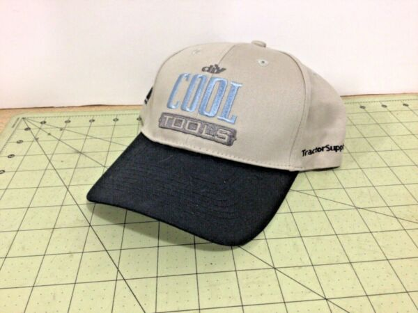 Tractor Supply Cool Tools embroidered strap back trucker hat FREE shipping $14.95