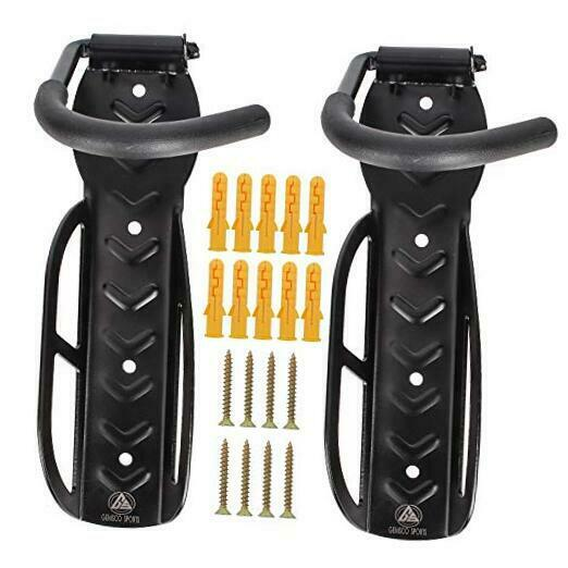 Bike Rack Wall Mount Stands For Indoor Storage Adjustable Angle Fits For $21.25