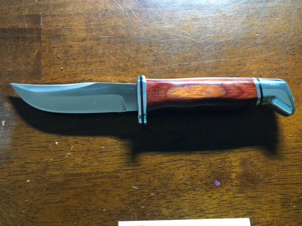 Buck Fixed Ranger Cocobolo D2 Knife Limited Factory Run 1 Of 37 Produced
