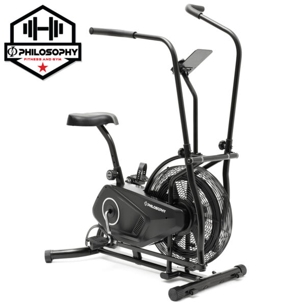 Exercise Cycling Fan Bike Indoor Exercise Cycle w Air Resistance System $179.99