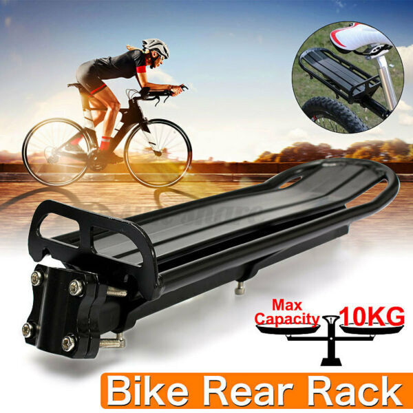 Bicycle Carrier Rear Rack Fender Luggage Seat Quick Release Metal Pannier Holder $19.99