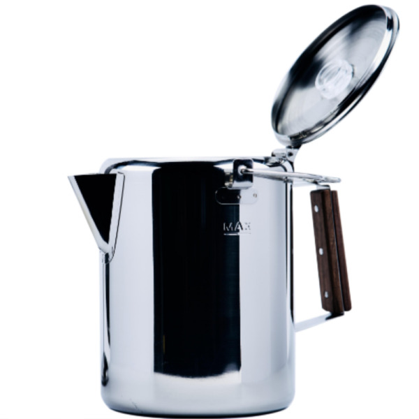 Ozark Trail 12 Cup Stainless Steel Percolator Coffee Pot NEW