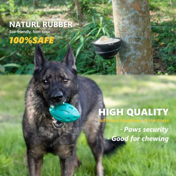 Dog Toys Chewers for Aggressive Indestructible Squeaky Dog Chew Toy Fetch Ball $10.15