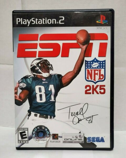 ESPN NFL 2K5 for PlayStation 2 complete with manual $9.99