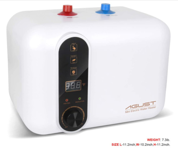 Electric Hot Water Heater 110 120V Compact Mini Tank StorageRv Small Output 2.5 $119.99