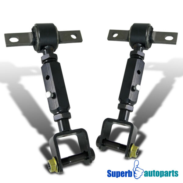 For 2001 2005 Civic 2002 2006 RSX Rear Adjustable Alignment Camber Arm Toe Bolts