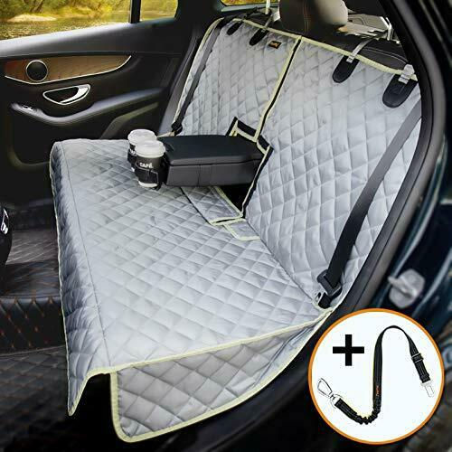 Bench Dog Car Seat Cover for Car SUV Small Truck Waterproof Back Regular GREY $46.28