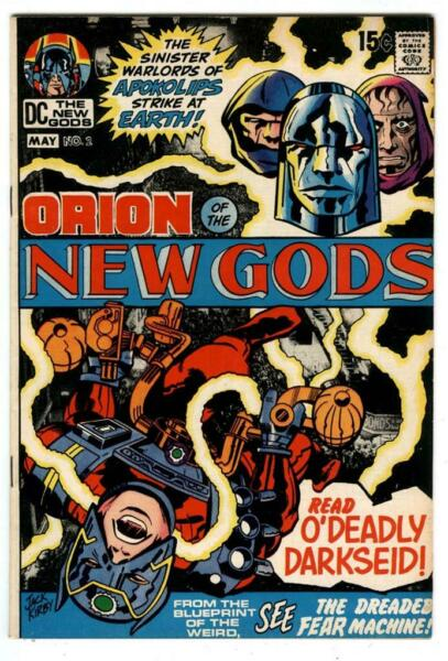 New Gods #2 2nd App amp; 1st Cover Appearance of Darkseid May 1971 Jack Kirby art $59.99