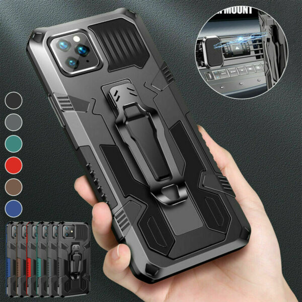 Shockproof Hybrid Armor Case For iPhone 13 12 Pro Max 11 XS XR 8 7 Plus SE Cover $7.45