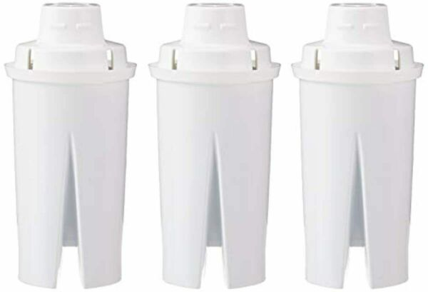 3 6 PACK Replacement Water Filters for Water Pitchers Compatible with Brita