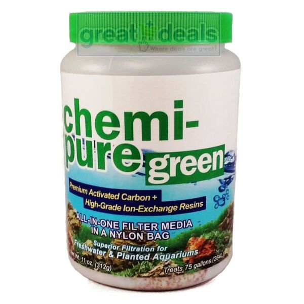 Boyd Chemi Pure Green 11 oz Carbon Resin Filter Media Freshwater Planted 0001 $16.65