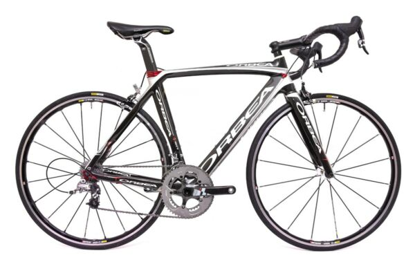 Orbea Orca 2x 10 Speed Carbon Road Bike 51cm SRAM Red Force Mavic R Sys SL 2011 $1399.95