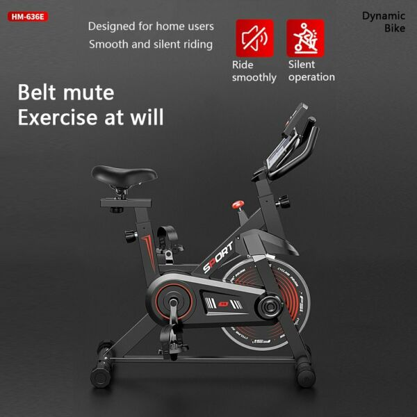Pro Exercise Stationary Bike Indoor Cycling Bicycle w LCD Display Home Training $187.99