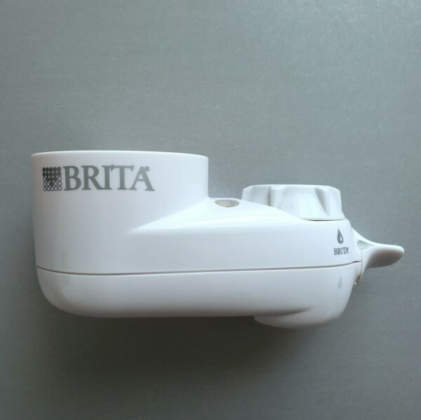 Brita Tap Faucet Mount Water Filtration System Faucet Attachment Only No Filter