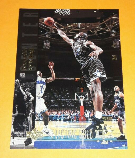 MAGIC #32 SHAQUILLE O#x27;NEAL ELECTRIC GOLD SP 1993 94 UPPER DECK SE PARALLEL $49.95