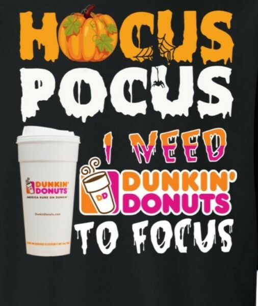 Hocuc Pocuc Dunkin 2 Focus Magnet Refrigerator Magnet Dunkin Donuts Coffee Home