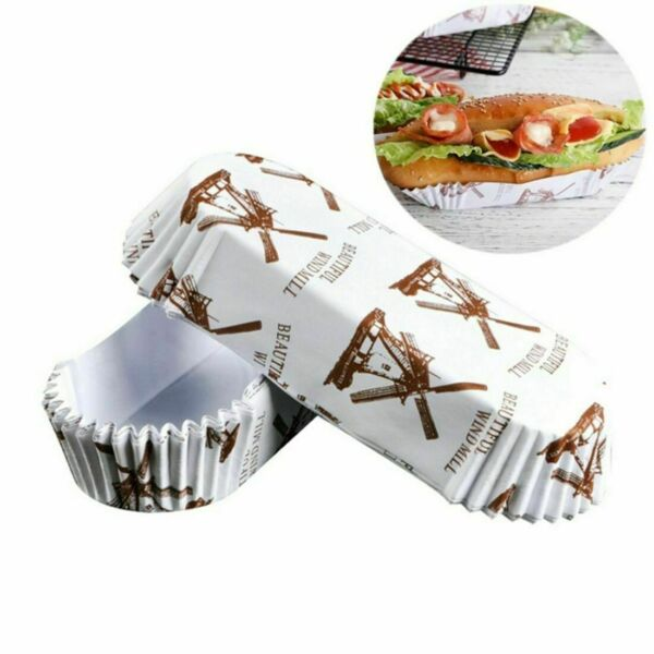 1Pack Disposable Wrappers Large Paper Cake Baking Cup Cupcake Muffin Cases