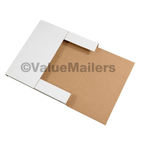 100 = 50 LP Record Book Box Mailers & 50 Insert Pads
