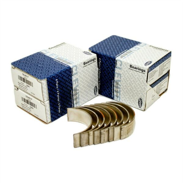 Clevite CB663P20 Chevy 305 350 383 400 Rod Bearings .20 Under Small Block Chevy $36.30