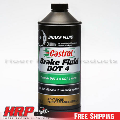 Castrol-Brake Fluid DOT 4 GT LMA-PN: 12614 / 12504 - 12 Pack