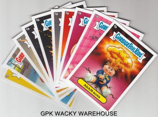 2013 GARBAGE PAIL KIDS BRAND NEW SERIES BNS 2 GLOW IN THE DARK SET 1010 CARDS