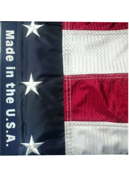 OUT OF STOCK! 30' X 50' American Flag Outdoor Mesh Best Quality  Made In The USA