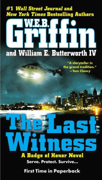 The Last Witness by W.E.B. Griffin (English) Mass Market Paperback Book Free Shi