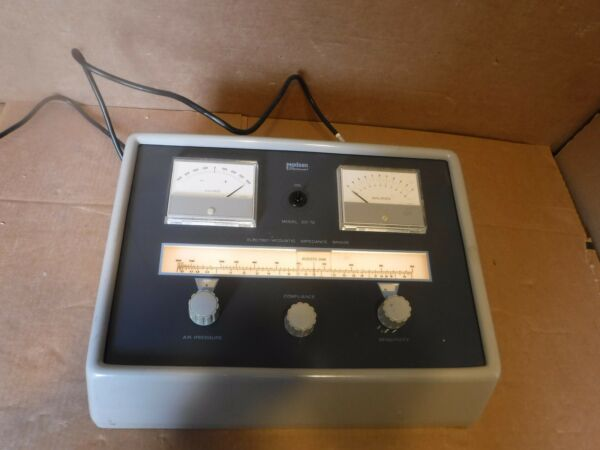 MADSEN ELECTRO ACOUSTIC MIDDLE EAR ANALYZER AUDIOMETER MODEL ZO 07
