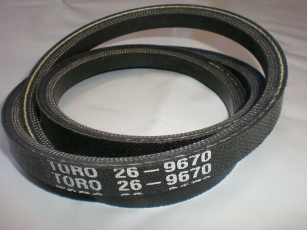NEW OEM Toro Snowblower Snowthrower 7 24 Auger V Belt 26 9670