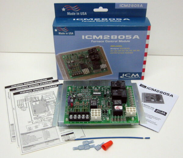 ICM2805A ICM Furnace Control Board for Nordyne Intertherm Miller 903106 624631 B $108.70