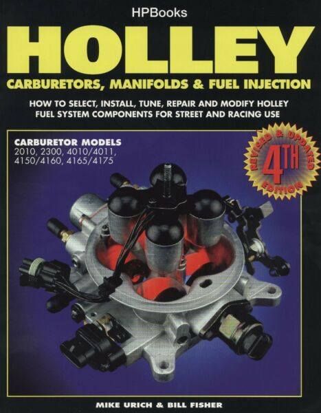 Holley Carburetors Manifolds amp; Fuel Injection Book HP1052 GBP 24.95