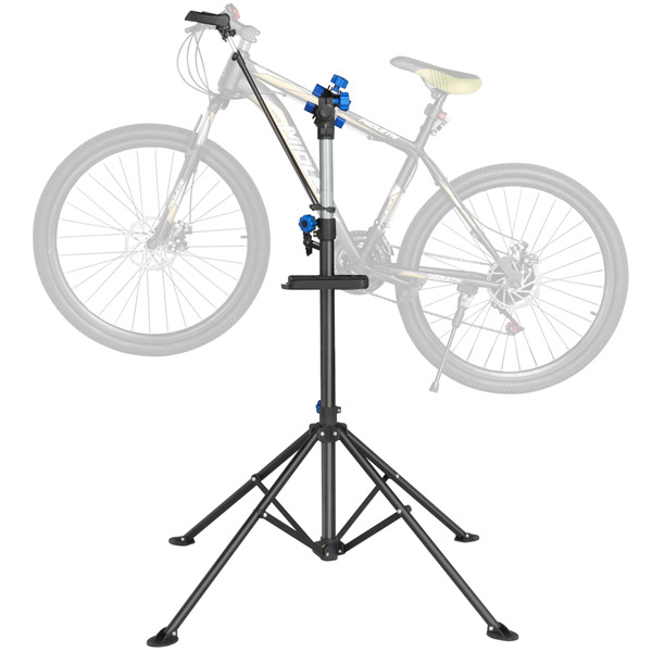 Bicycle Bike Repair WorkStand Cycle Rack Adjustable 42 to 75quot; Portable Tool Tray $52.99