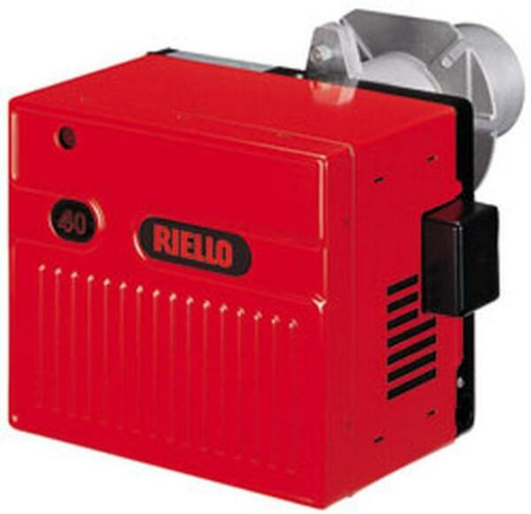 RIELLO C8551115 GAS120 NATURAL GAS BURNER WITH SHORT TUBE AND 1 2quot; GAS TRAIN $864.94
