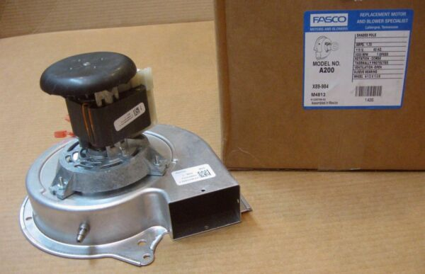 Fasco A200 Furnace Draft Inducer Motor fits Lennox 7002-2975 313L5501 31L5501