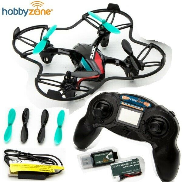 Hobbyzone HBZ8700 Zugo™ 2MP HD Camera Drone RTF w/ Radio Battery
