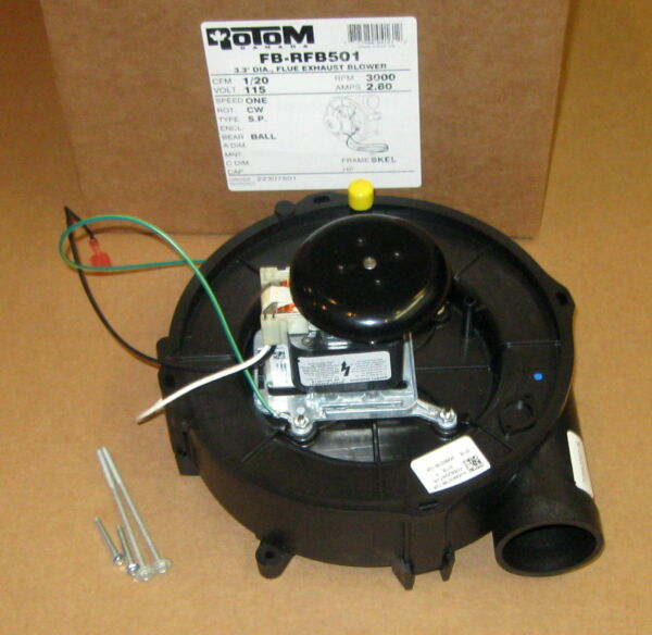 Draft Inducer Furnace Blower Motor for Goodman 22307501 70582097 Rotom RFB501