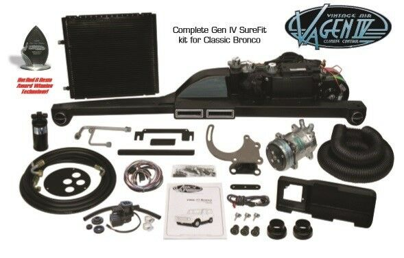 1966 to 1977 Ford Bronco Complete Vintage Air Conditioning Surefit System