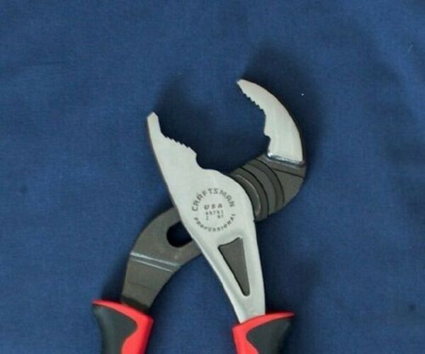 NEW CRAFTSMAN PROFESSIONAL 9 1 2quot; ARC JOINT PLIERS CUSHION GRIP 45761 USA MADE