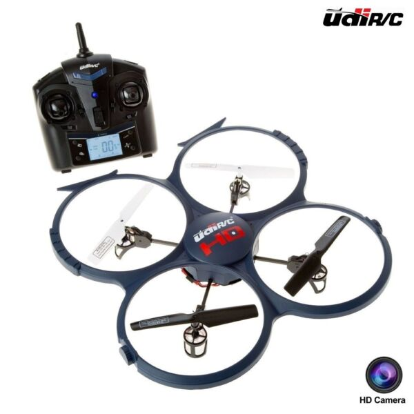 UDI RC Discovery U818A-1 2.4GHz 4 CH 6 Axis Gyro RC Quadcopter Drone w HD Camera