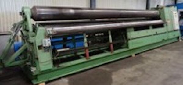 Roundo Model PS-320 Double Initial Pinch Plate Roll