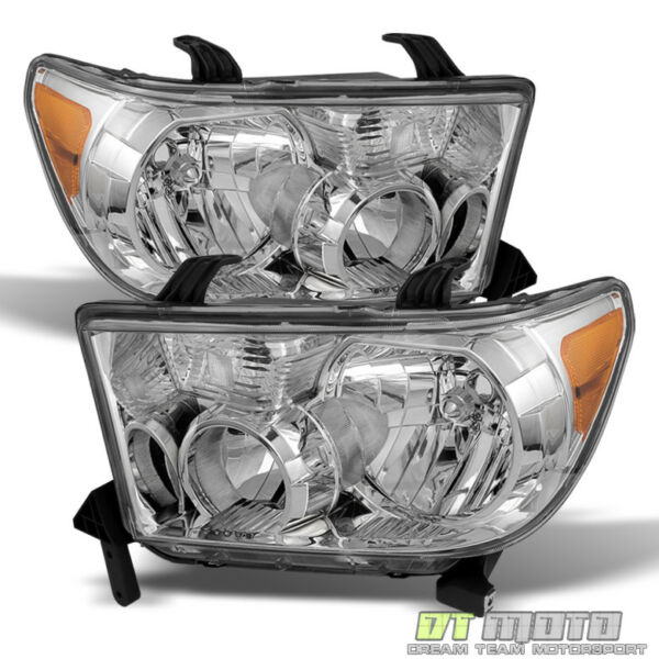 For 2007 2013 Toyota Tundra 2008 2017 Sequoia Headlights Aftermarket LeftRight $104.99