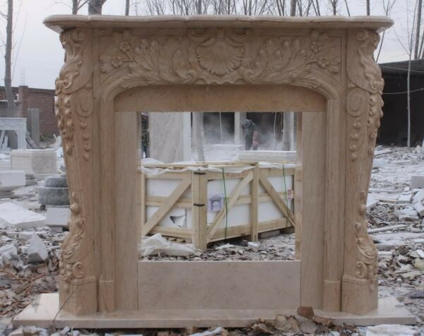 Marble Fireplace Mantel The Best Quality Hand Carved French Design
