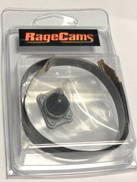 RageCams 4.4mm Pinhole Lens Holder Kit+Flex Cable for GoPro Hero4 Black/Silver