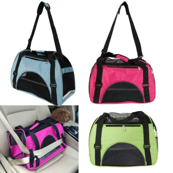 Comfort Pet Dog Nylon Handbag Carrier Travel Carry Bags For Small Animals S M L $14.98