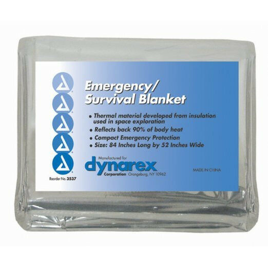 3 Emergency Rescue Space Thermal Mylar Blankets 84 x 52 New Free Shipping