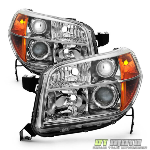 For 2006 2007 2008 Honda Pilot Factory Headlights Headlamps Replacement 06 08