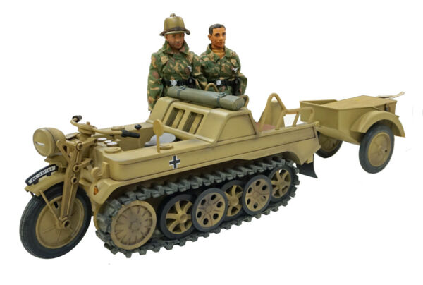 Ultimate Soldier KETTENKRADTRAILER2 FIGURES 1:6 Scale THIS THING IS HUGE $99.95